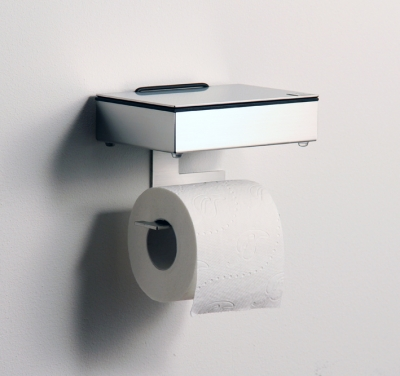 Wet wipes holder and toilet paper holder (M/S)