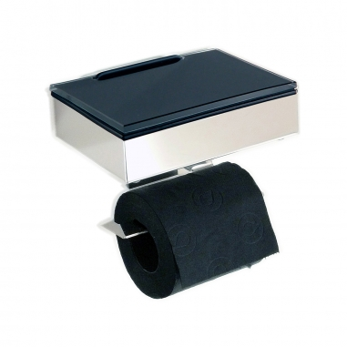 Wet wipe holder and toilet paper holder (S/S)