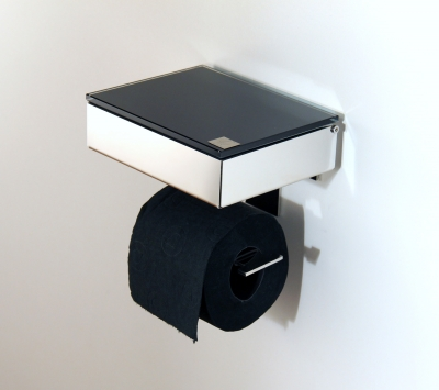 Wet wipe holder and toilet paper holder (S/S) V2