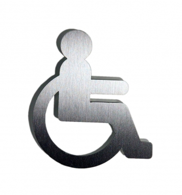 Doorplate  - wheelchair patient (matt)
