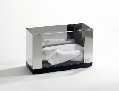 azizumm shop f r modernes design g stetuchhalter wandhalter glas mattiert gefrostet. Black Bedroom Furniture Sets. Home Design Ideas