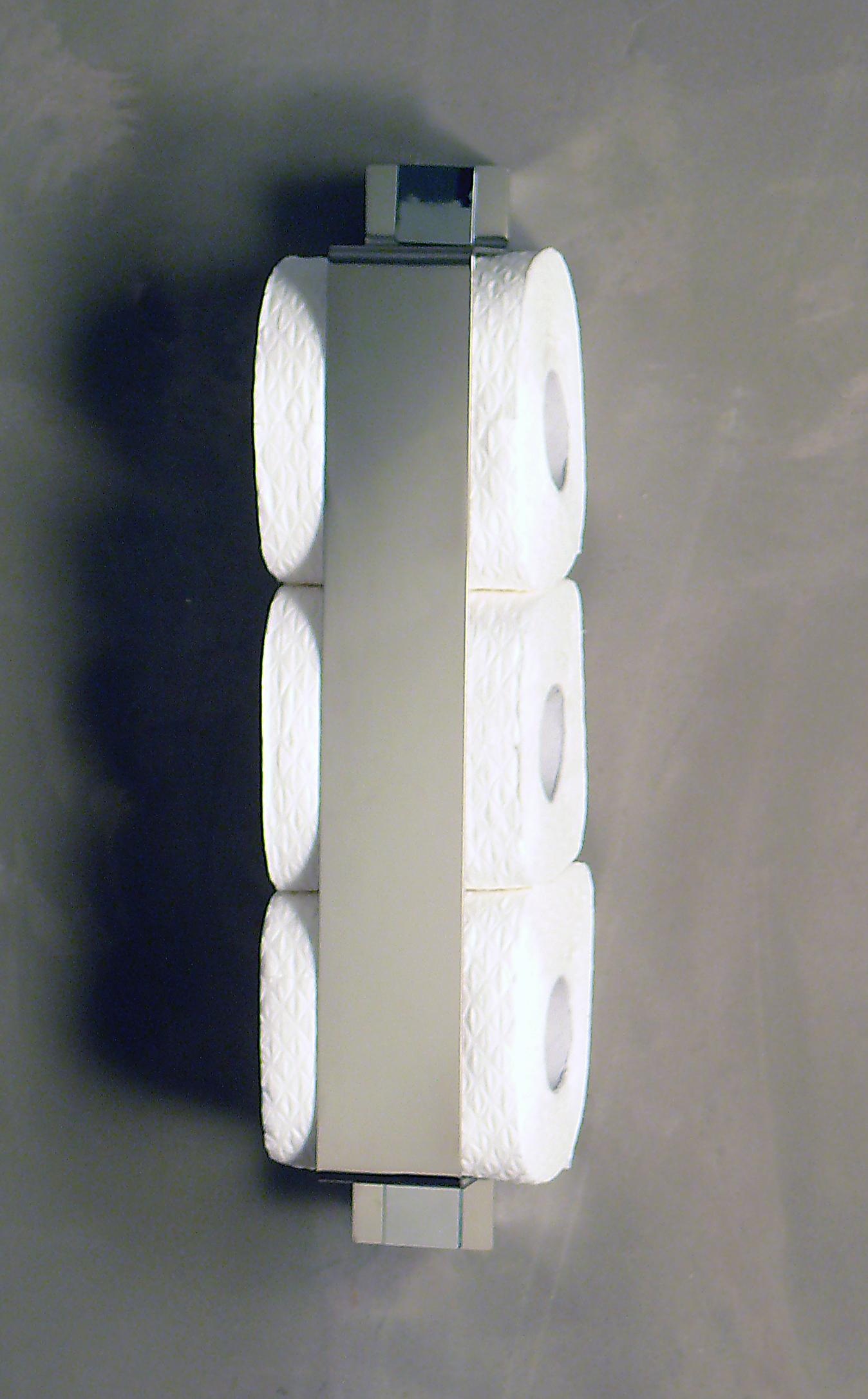 ersatzrollenhalter f r die wand edelstahl azizumm shop. Black Bedroom Furniture Sets. Home Design Ideas