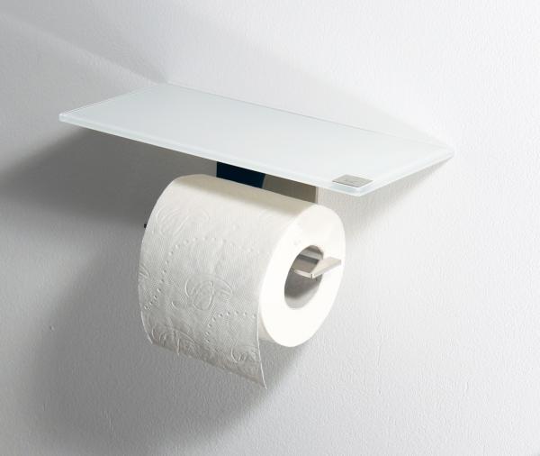 azizumm shop f r modernes design toilettenrollenhalter aus edelstahl glas wei. Black Bedroom Furniture Sets. Home Design Ideas