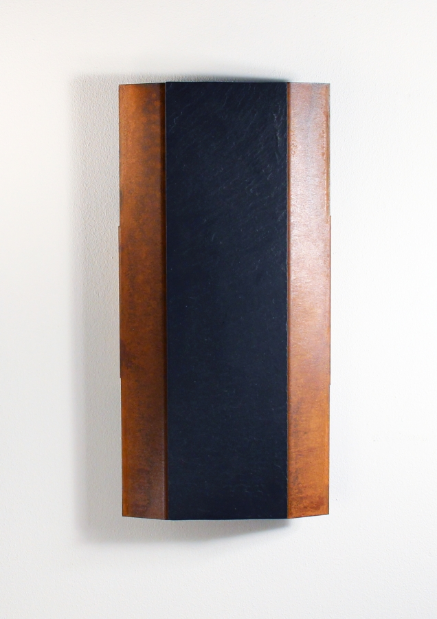 azizumm shop f r modernes design schl sselkasten chaka in rostoptik und schiefer. Black Bedroom Furniture Sets. Home Design Ideas