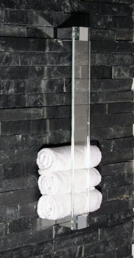 azizumm shop f r modernes design g stetuchwandhalter aus glas chrom sch nbeck design. Black Bedroom Furniture Sets. Home Design Ideas